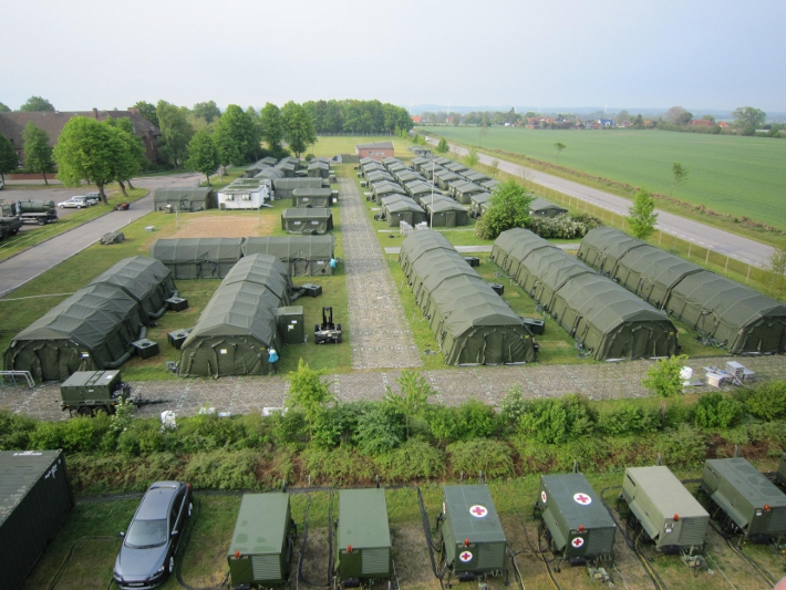 Military Field Camp 1 Care Horizon
